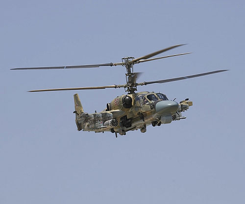 Russian, Syrian Helicopter Pilots Conduct First Joint Exercise in Desert
