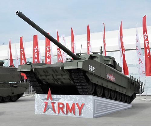 Russian Armata MBT to Debut at IDEX 2021