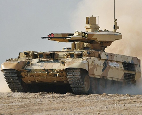 Russian Army to Adopt Terminator-2 Tank Support Vehicle