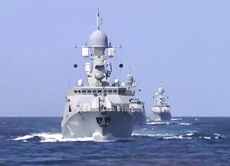 Russian Caspian Sea Flotilla Tests Cutting-Edge Radar