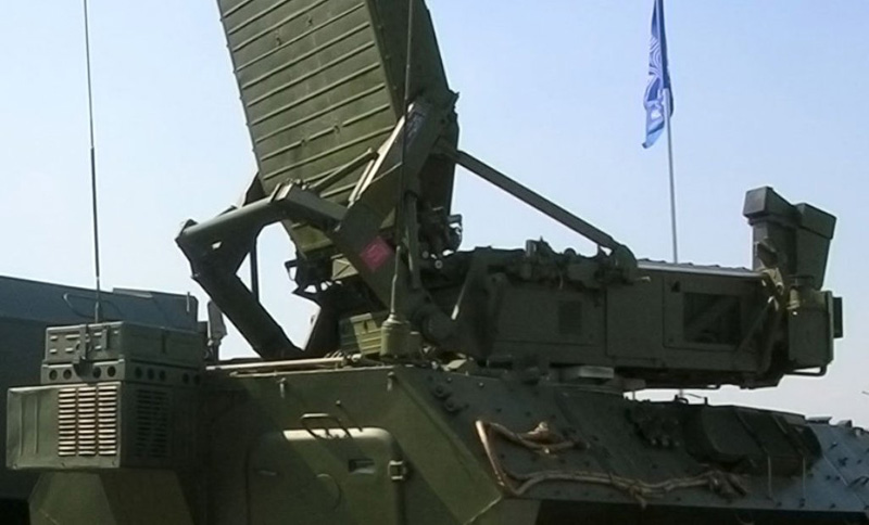 Russian Sets Up High-Tech Radar System in Syria