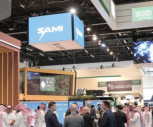 SAMI Represents the Kingdom of Saudi Arabia at IDEX 2021