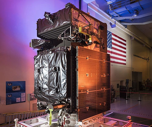 SBIRS GEO-5 Delivered to Cape Canaveral in Preparation for May Launch