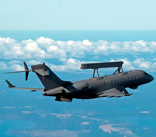 Saab Delivers First GlobalEye to United Arab Emirates