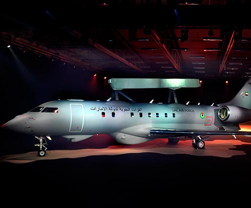 Saab Reveals First GlobalEye AEW&C Aircraft