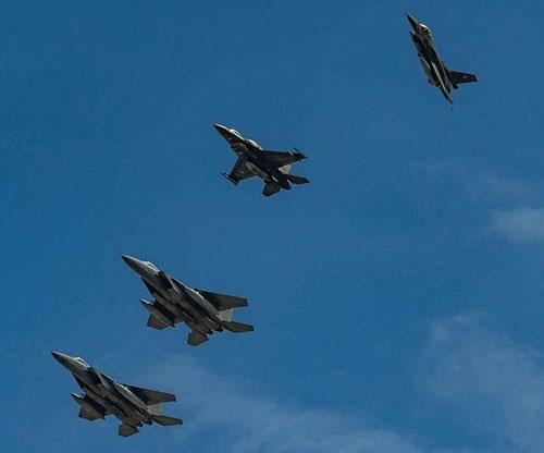 Saudi, Greek Air Forces Start 'Eagle Eye 1' Drill Maneuvers