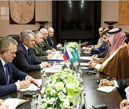 Saudi Deputy Minister of Defense Meets Russian Defense Minister