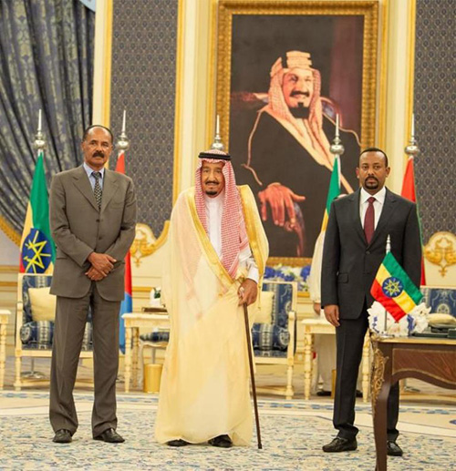 Saudi King Patronizes Ethiopia-Eritrea Peace Agreement