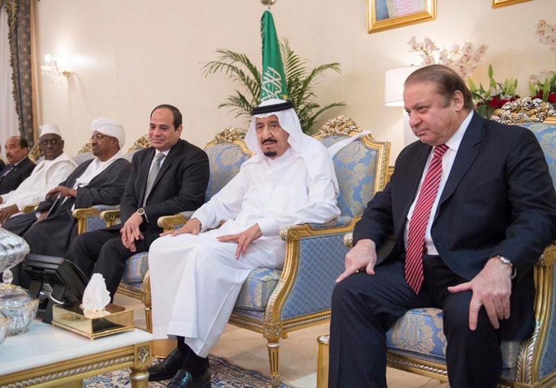Saudi King Receives Leaders Attending North Thunder Closing Maneuver