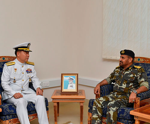 South Korean Chief of Naval Operations Visits Oman