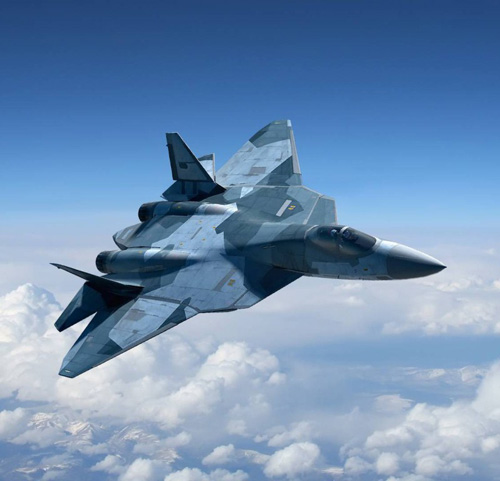 Russia's T-50 5th Generation Fighter to Get New Engine