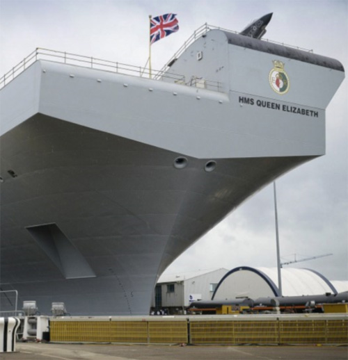 Thales to Offer Communications Support for Queen Elizabeth Class Aircraft Carriers