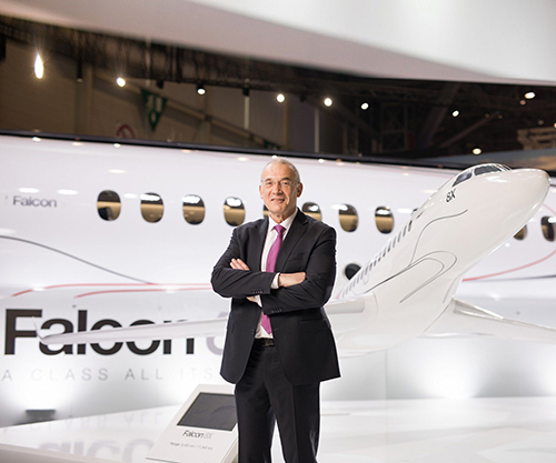 Thierry Betbeze Named CEO Dassault Falcon Jet