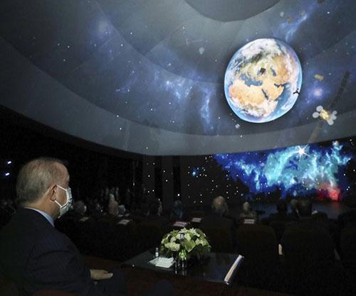 Turkish President Unveils National Space Program