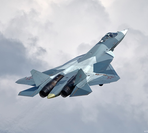 Two 5th Generation Su-57 Jets Reportedly Land in Syria