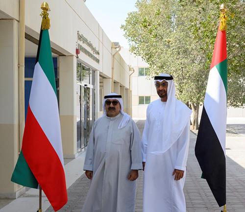 UAE, Kuwait Fostering Defense Ties