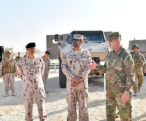 """UAE, US Start """"Iron Union 12' Joint Military Exercise"""