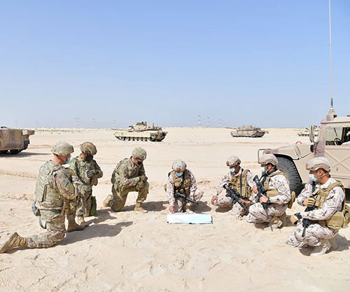 UAE, US Start 10-Day Joint Military Exercise 'Iron Union 14'