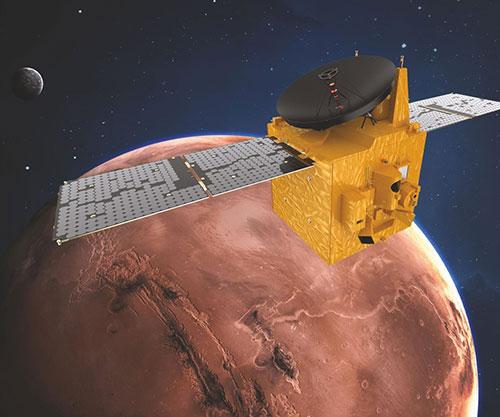 UAE's Hope Probe Arrives to Mars