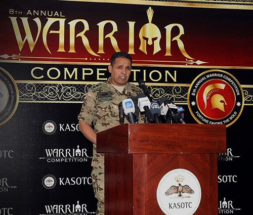 UAE Ambassador Attends Warrior Competition in Jordan