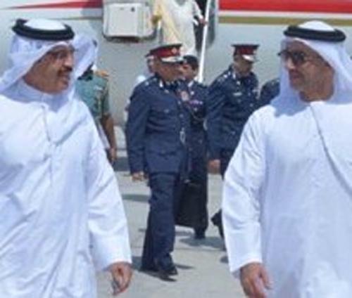 UAE, Bahrain Interior Ministers Discuss Security Cooperation