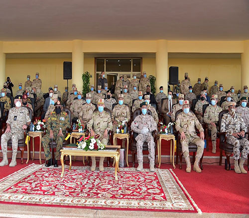 UAE Chief-of-Staff Attends Conclusion of 'Saif Al Arab' Military Exercise
