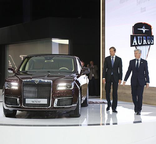 "UAE Invests US$ 125 Million in Russian Automotive ""Aurus"""