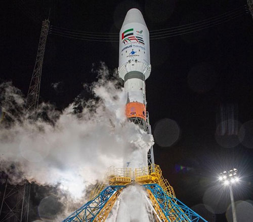 UAE Launches Falcon Eye into Space on its 49th National Day
