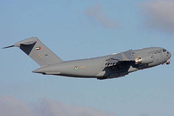 UAE Requests Large Aircraft Infrared Countermeasures for C-17 Aircraft