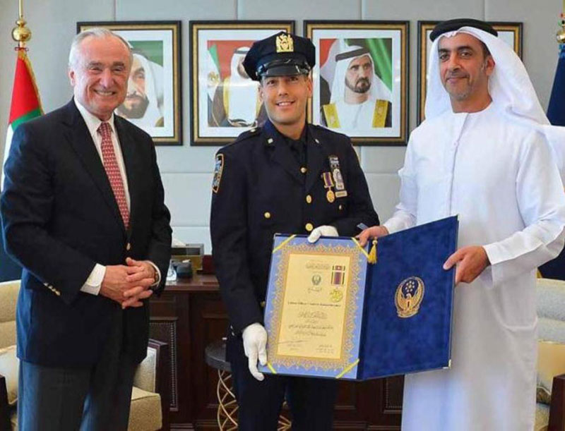 UAE's Minister of Interior Receives NYPD Commissioner