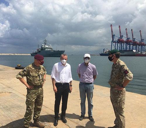 UK's Defense Senior Adviser Visits Beirut