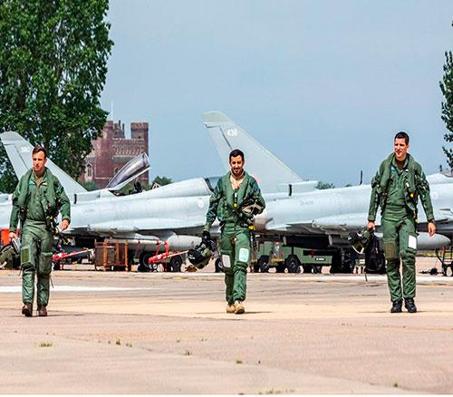 UK-Qatari Typhoons Start Flying as Joint Squadron