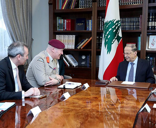 UK Reaffirms its Support to Lebanese Armed Forces