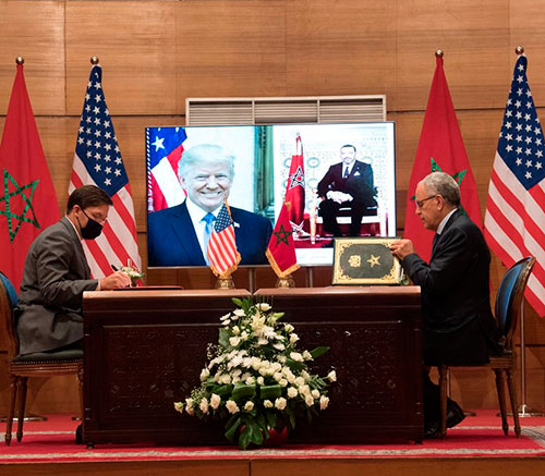 US-Morocco Sign 10-Year Military Cooperation Agreement