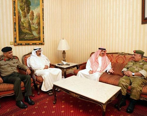 Undersecretary of Kuwait National Guard Visits Bahrain