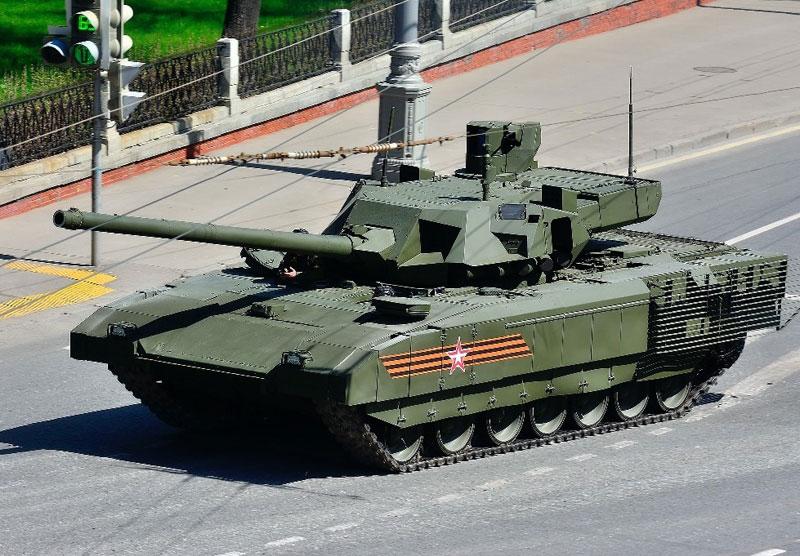 "Advanced Russian Armata T-14 Tank in ""Mass Production"""