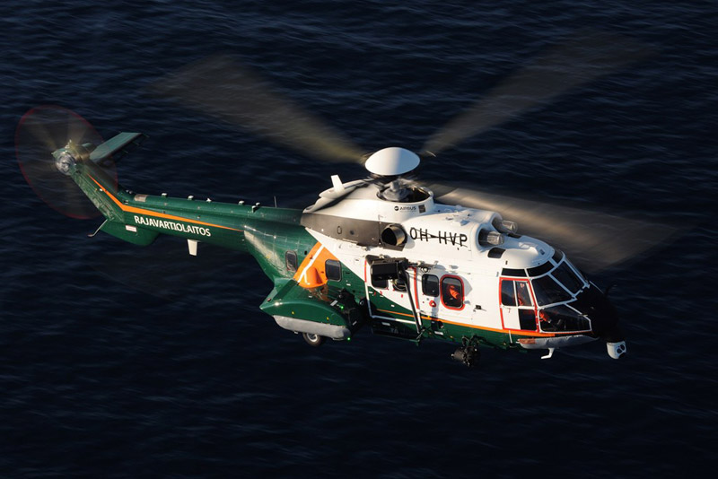 Airbus Helicopters Delivers First H215 to Finnish Border Guard