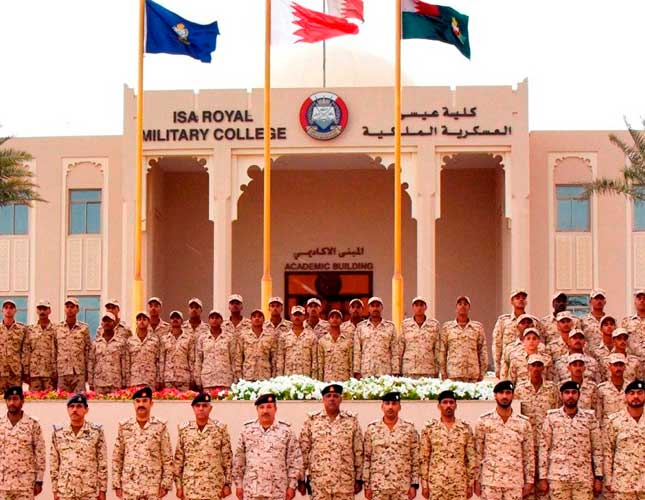 Bahrain's Top Defense Chiefs Attend Various Functions