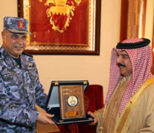 Bahrain's King, Defense Chiefs Hail Military Ties With Egypt