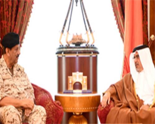 Bahrain's Deputy King Meets Defense Forces Commander