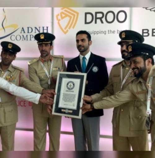 Dubai Police Enters Guinness Book of World Records