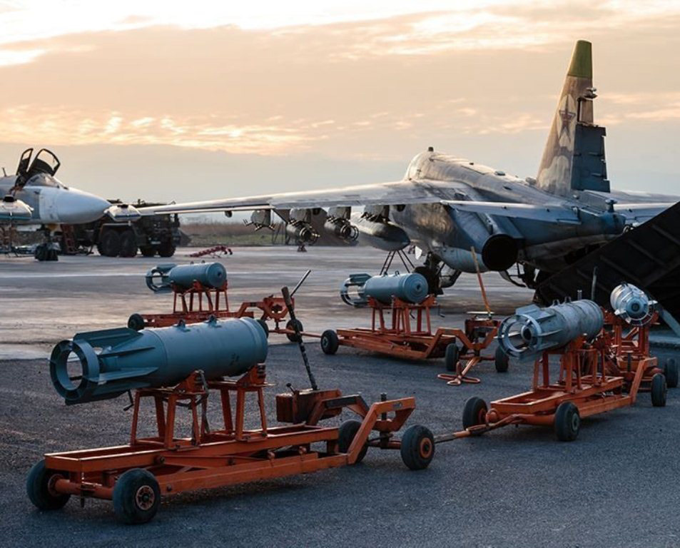 Russian air group at the Hmeymim airfield in Syria (©Russian Defense Ministry)
