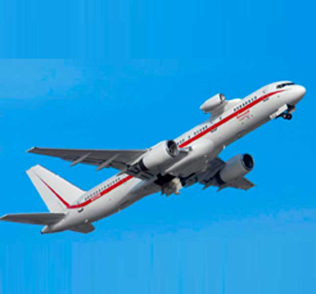 Honeywell Brings its Boeing 757 Test Bed Aircraft to Dubai