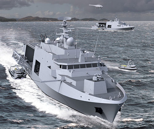 iXblue to Supply Sonars & Navigation System for 12 Belgian & Dutch Mine Countermeasures Vessels