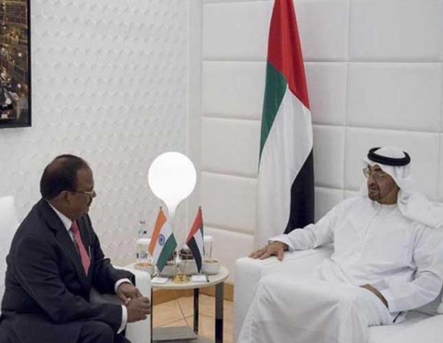 Indian National Security Advisor Visits UAE