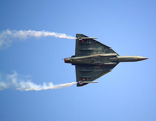 India's First Locally-Built Light Combat Aircraft Flies High