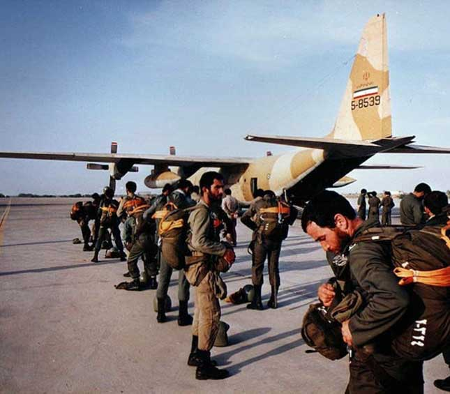 Iran Expanding Airborne Force's New Bases