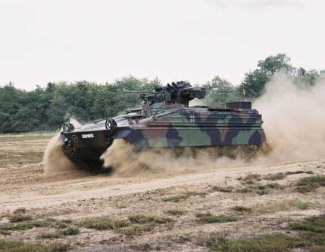 Germany Delivers 16 Marder Armored Vehicles to Jordan