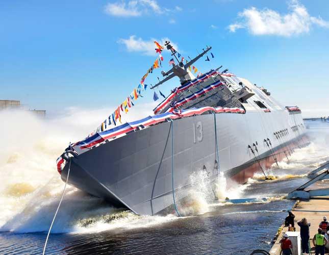 Lockheed Martin-Led Team Launches Future USS WICHITA