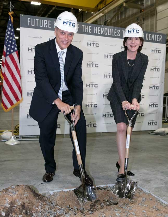 Lockheed Martin Breaks Ground on Hercules Training Center